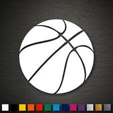 14096 Basketball Aufkleber 95x95mm Ball Autoaufkleber KFZ Tuning Tattoo