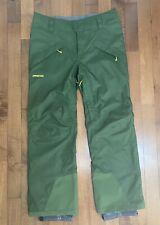Patagonia Mens Ski Snowboarding Pants Size Large NWT Glades Green MSRP $199