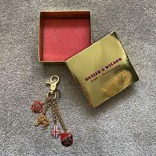 Butler & Wilson 40th Anniversary England Themed Keyring Keychain