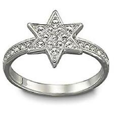 NEW SWAROVSKI STAR SHAPED SWAROVSKI CRYSTALS PLEASURE RING 1106486 NWT $85