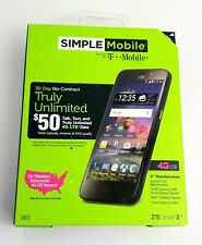 Simple Mobile ZTE 2 4G Android Smartphone (phone only / service not incl.)