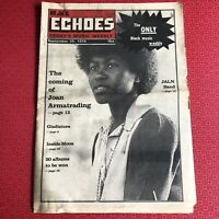 Black Echoes  25 September 1976 Joan Armatrading, J.A.L.N. Chain Reaction