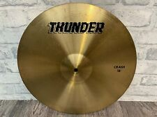 """More details for thunder 18"""" drum crash cymbal hardware / accessories"""