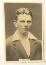 1928 MILLHOFF Test Cricket Card No 2 of 27 - M. LEYLAND Card in Very Fine Cond.
