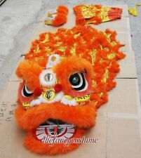 Lion Dance mascot Costume Southern Lion kid size two kid Spring Party stage prop