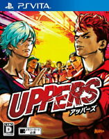 UPPERS Sony Playstation Vita PS VITA Games From Japan Tracking USED