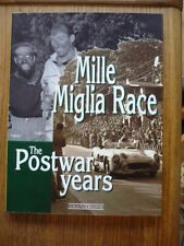 THE MILLE MIGLIA RACE THE POST WAR YEARS, MOTOR RACING CAR BOOK