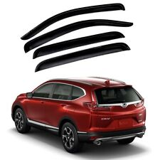 For 2017-2020 Honda CRV CR-V 4pcs Window Sun Rain Visors Guard Wind Deflector