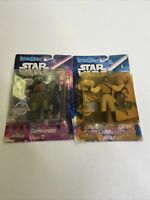 Star Wars Justoys BEND-EMS Vintage 1994 Gamorrean Guard And Lando Calrissian Lot