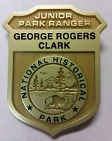 George Rogers Clark National Historical Park Service NPS Jr Junior Ranger Badge