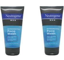 2 Pack Neutrogena Men's Invigorating Face Wash 5.1 Ounce