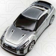 NISSAN GT-R R35 PROTO RACING SPIRIT COLLECTION UCC 1:64 SILVER post r34 IN BOX