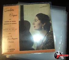 """100 FUNDAS GALGA 600 -MUY GRUESAS- PARA DISCOS DE VINILO SINGLES 7"""" -CALIDAD-"""