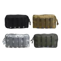 Outdoors 1000D Tactical Bag MOLLE Accessory Pouch EDC Pocket Utility Purse Punch