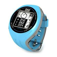 Pyle GPS Smart Golf Watch with Course Recognition Green Locator Distance...