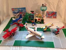 Lego Town Classic International Jetport 6396 Airport lot of different sets 1990