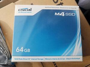 "Crucial M4 64GB Internal 2.5"" (CT064M4SSD1) SSD NOS Sealed"