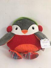 "Pier 1 Imports Penny the Penguin Jingle Buddies 16"" Plush Handwarmer NWT D"