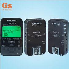 Yongnuo YN-622C-TX controller + 2PCS YN-622C II E-TTL Transceiver for canon