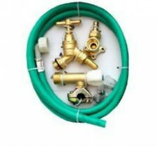 Through Wall Brass Outside Garden Tap Kit Meets Water Regulations 365