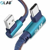 USB Type C 90 Degree Fast Charging usb c cable Type-c data Cord Charger