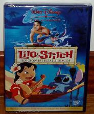 LILO & STITCH EDICION ESPECIAL 2 DVD CLASICO DISNEY Nº 42 NUEVO (SIN ABRIR) R2