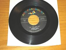 """R&B / SOUL 45 RPM - JOHNNY NASH - ABC-PARAMOUNT 9996 - """"AS TIME GOES BY"""""""
