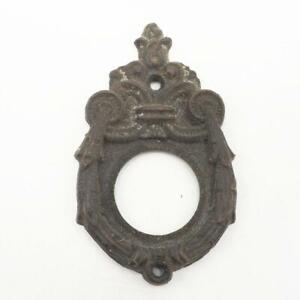 Vintage Door Escutcheon Key Hole Lock Cover Frame