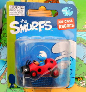 blister Schtroumpf  voiture coccinelle puffo pitufo puffi  smurf DIECAST RACERS