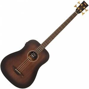 Vintage VCB440WK Statesboro Electro-Acoustic Bass Guitar - Whisky Sour