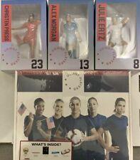 Culturefly US Womens Soccer Collector Box w/ Morgan, Ertz, Press Figures USWNT