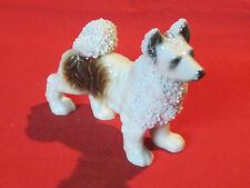 Vintage porcelain Alaskan Malamute dog figurine