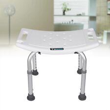 Badhocker Duschhocker Duschstuhl Badestuhl Duschhilfe höhenverstellbar bis 80kg