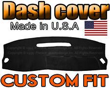 fits 2001-2004  DODGE DAKOTA  DASH COVER MAT DASHBOARD PAD / BLACK