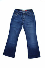 GUESS LADIES USA JEANS GUESS STYLE FADED BLUE DENIM JEANS BOOTCUT W30 UK12 FAB