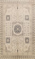 Muted Antique Style Khotan Vegetable Dye Hand-knotted Oriental Area Rug 10x14 ft