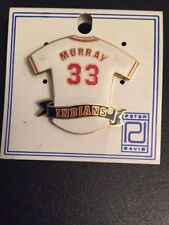 Eddie Murray Cleveland Indians 33 Jersey Lapel Hat Pin