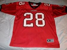 Warrick Dunn Tampa Bay Buccaneers NFL Red Starter Jersey Adult X-Large 52 used