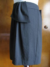 Gap women's black lined wrap fancy skirt  size large NWT
