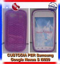 Pellicola+Custodia EXA PURPLE per Samsung I9020 Nexus S (B4)