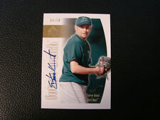 2002 Upper Deck SP Authentic Steve Kent Autograph Card Box # 26 Tampa Bay Rays