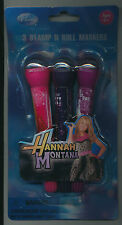 Disney Hannah Montana 3 stamp n roll markers