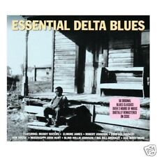 ESSENTIAL DELTA BLUES 2 CD JOHNSON WATERS (EAUX) HOOKER (E1223)