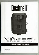 Bushnell Nature View HD Essential Instruction Book. More Camera Manuals Listed.