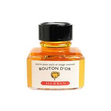 J.Herbin Fountain Pen Ink - 30ml bottle - Bouton d'Or