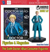 The Doctor Who Collection: The Sixth Doctor (Blue Costume) Figurine - Issue 167