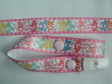 A GORGEOUS Care Bears factice Clip/Pacifier/Toy Clip New