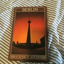 BERLIN, GERMANY. BROCKHAUS, SOUVENIR HARDCOVER BOOK. CHRISTEL FOERSTER,