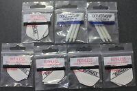 Ruthless White Flights & Shafts Pack. 5 pack flights,  2 sets of shafts