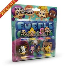 8pcs Bubble Guppies Lovely Stand up dolls,Spring Dolls,Furnishing articles dolls